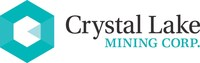 Crystal Lake Mining Corporation (TSX.V: CLM) reports& that the previously announced private placement of May 18, 2018, has been over-subscribed. Final aggregate gross proceeds for this financing with strategic investors came to $1,173,000 (2,132,727 shares in total). Proceeds of the financing, which remains subject to regulatory approval, will be used to further advance the Company's Nicobat Project in northwest Ontario and for general working capital purposes. (CNW Group/Crystal Lake Mining Corporation)