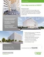 Fiche technique - Futur siège social de la CNESST (Groupe CNW/Commission des normes, de l'équité, de la santé et de la sécurité du travail)