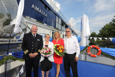 AmaWaterways Officially Welcomes AmaLea To European Fleet With Festive Christening Ceremony