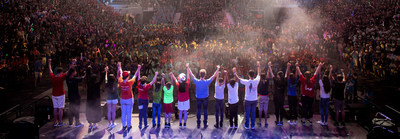 More than 1,400 student teams from 38 U.S. states and 19 countries competed in the Destination Imagination 2018 Global Finals. (Photo: Carrie George)