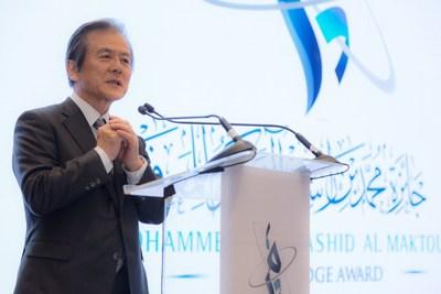 Dr Hiroshi Komiyama (PRNewsfoto/Maktoum Knowledge Foundation)