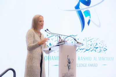 Wendy Kopp (PRNewsfoto/Maktoum Knowledge Foundation)