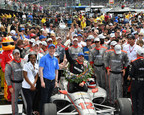 2018 Indianapolis 500 Winner Will Power Presented with Borg-Warner Trophy™