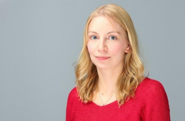 Sarah Lawrynuik, FFF bursary winner 2018 (CNW Group/Canadian Journalism Forum on Violence and Trauma)