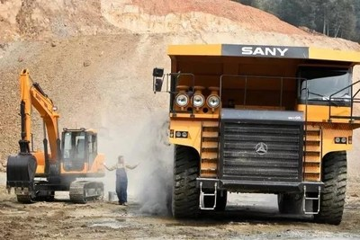 SANY mining machinery