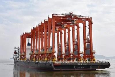 Maquinaria portuaria de SANY (PRNewsfoto/SANY)