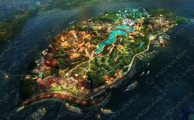 """""""The Circle"""" Offline Internet Integrated Resort of NOVAEX GROUP"""