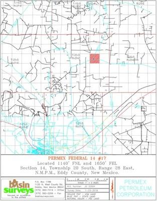 Oxy Yates Survey (CNW Group/Permex Petroleum Corporation)