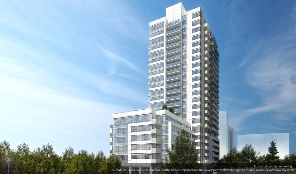 The Humber, the new Smoke Less condo to be built at Lawrence and Weston Road (CNW Group/Options for Homes)