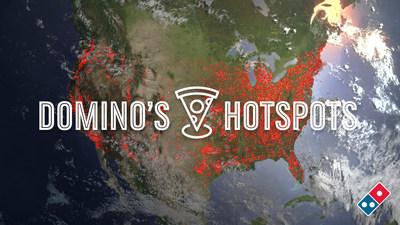 Domino's ahora le está dando la oportunidad a sus clientes de ingresar sus propias recomendaciones de lugares para realizar entregas de Hotspots de Domino's a lo largo de los Estados Unidos.