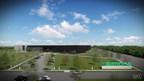Futur centre multiservice de traitement des commandes Simons (Groupe CNW/Maison Simons)