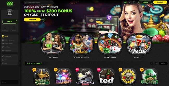 888casino New Gaming Platform (PRNewsfoto/888casino)