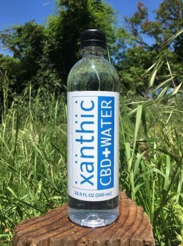 """Xanthic Biopharma's flagship product, """"Xanthic CBD Water"""" pictured above. (CNW Group/Xanthic BioPharma)"""