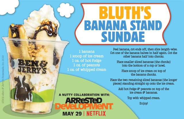 Make your own Bluth Banana Stand Sundae at home with this DIY recipe.