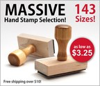 Massive Hand Stamp Product Offering From Rubber Stamp Champ