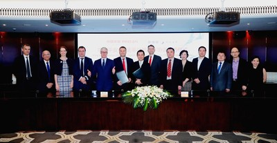 Ping An Group signed a strategic cooperation agreement with Sanofi
