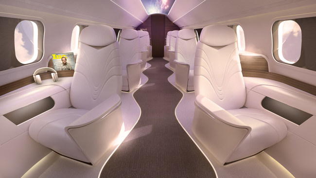 AURA brings first-of-its-kind style to the skies at affordable prices.