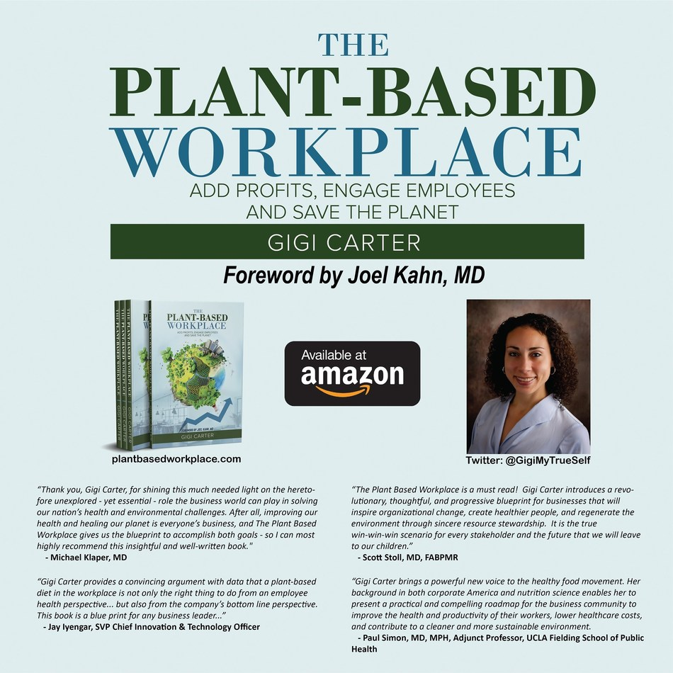 New book shows companies how one change can boost profits, engage employees and leave a lighter footprint: plantbasedworkplace.com