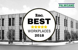 Palmisano Named one of Inc. Magazine's Best Workplaces 2018