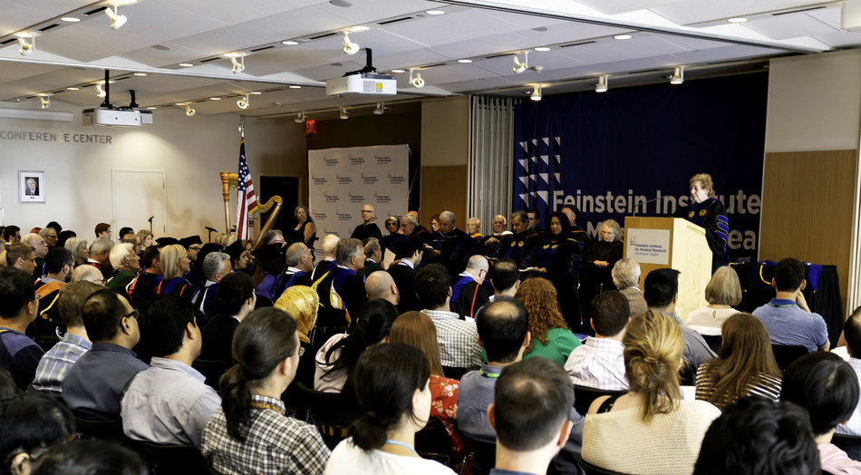 2018 Commencement Exercises for the Elmezzi Graduate School of Molecular Medicine took place at the Feinstein Institute for Medical Research