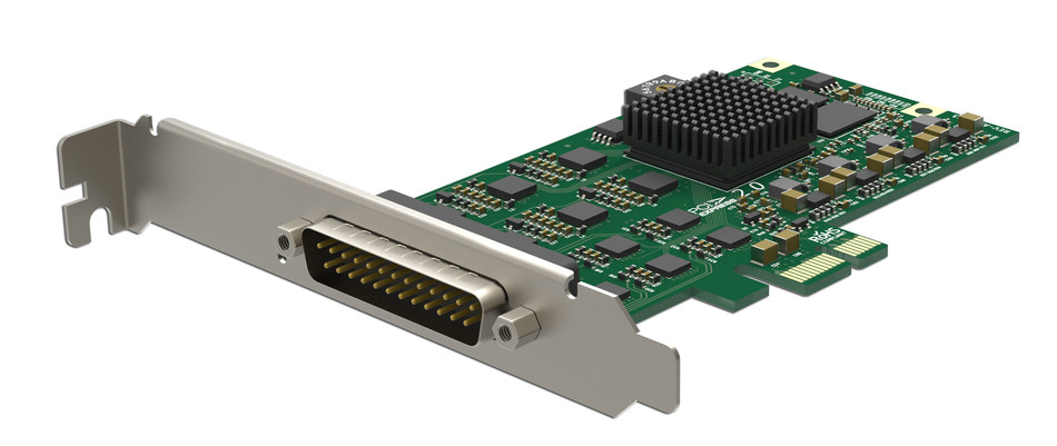 Magewell's Pro Capture Hexa CVBS capture card provides a reliable, feature-rich, high-quality bridge between analog video sources and the latest Windows, Mac and Linux software applications.