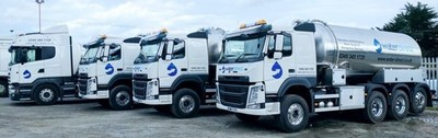 Water Direct has made a significant investment into its capability with £2 million in new tanker fleet (PRNewsfoto/Water Direct)