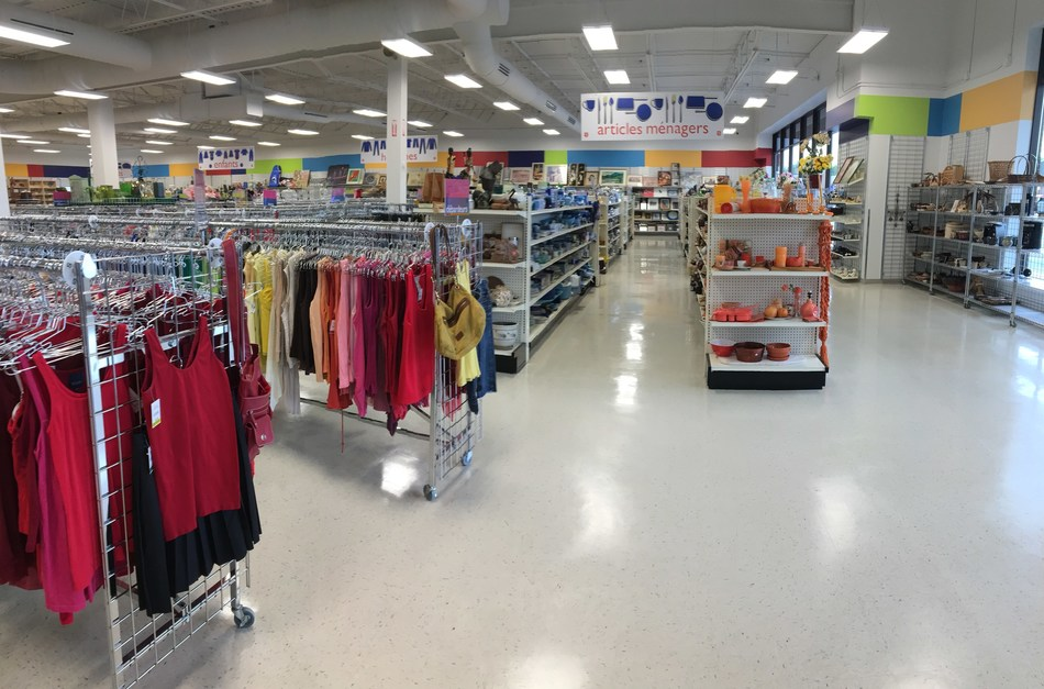 Salvation Army Thrift Store Opens First Location in Eastern Montreal (CNW Group/The Salvation Army)