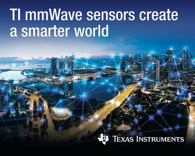 TI delivers the industry's first and only single-chip, CMOS millimeter-wave sensor in mass production