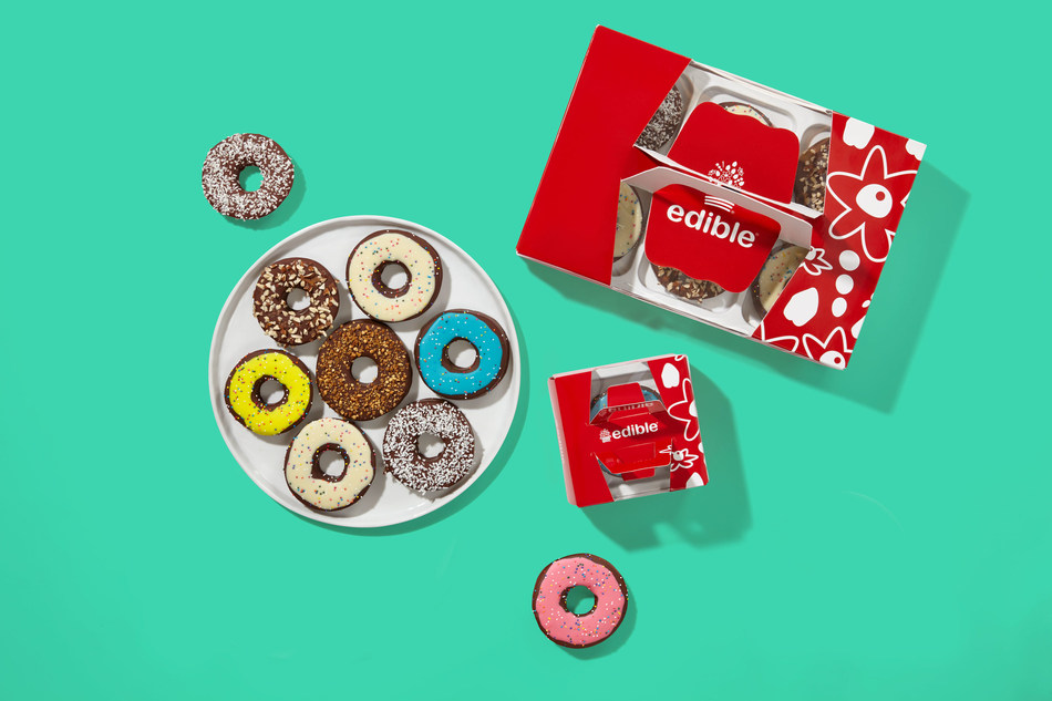 New Edible® Donut from Edible® now available!