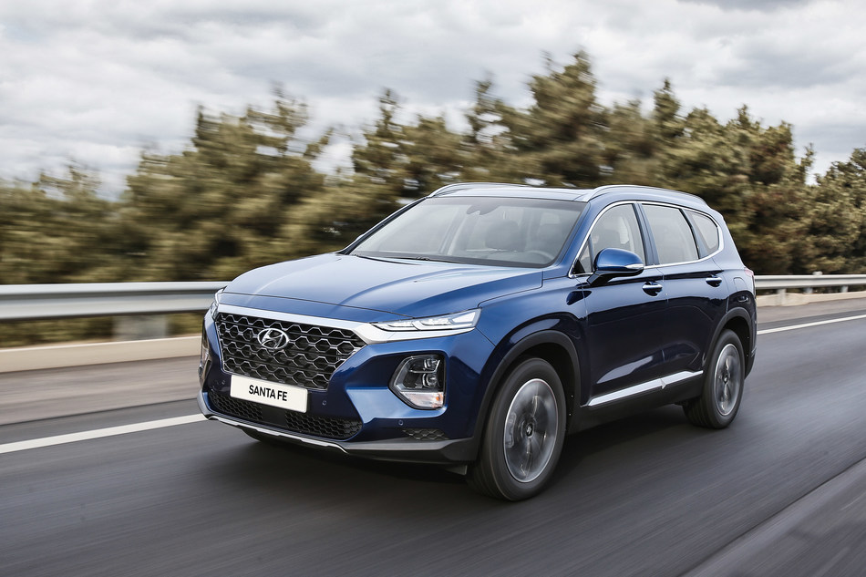 The all-new 2019 Santa Fe will make its Canadian debut at this year's Festival International de Jazz de Montréal. Other vehicles that will be on display include Kona EV, Veloster N, Veloster Turbo, Kona, and Tucson. (CNW Group/Hyundai Auto Canada Corp.)