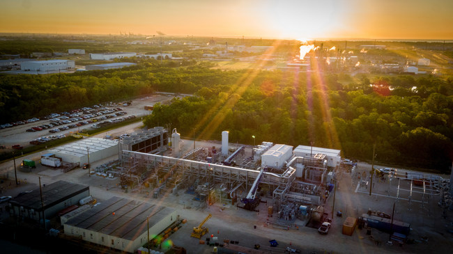NET Power's 50 MWth Demonstration Plant in La Porte, Texas