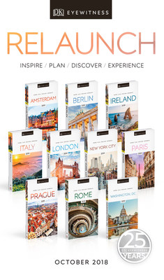 DK Eyewitness Travel Celebrates 25th Anniversary with Guide Relaunch