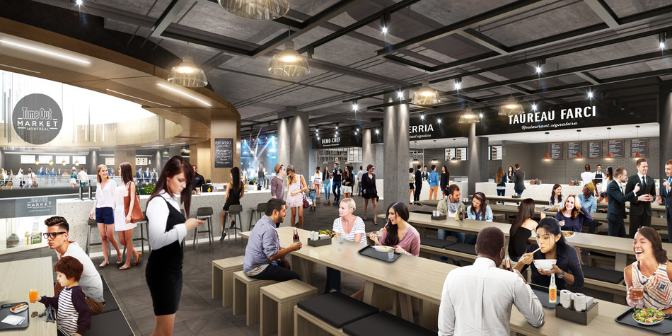 Time Out Market is coming to Montréal (CNW Group/Ivanhoé Cambridge)
