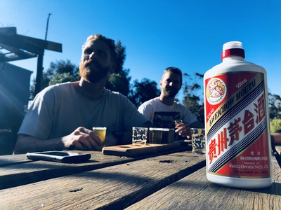 Moutai appreciation at New South Wales winery