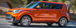 The 2018 Kia Soul is one of the vehicles available at Lehighton Kia that would work well for summertime driving.