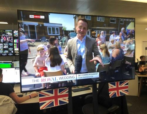 Sky News using LiveU technology for its royal wedding UHD/4K broadcast