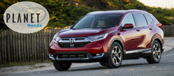 Schedule a test drive of a new 2018 Honda CR-V at Planet Honda in Golden, CO.