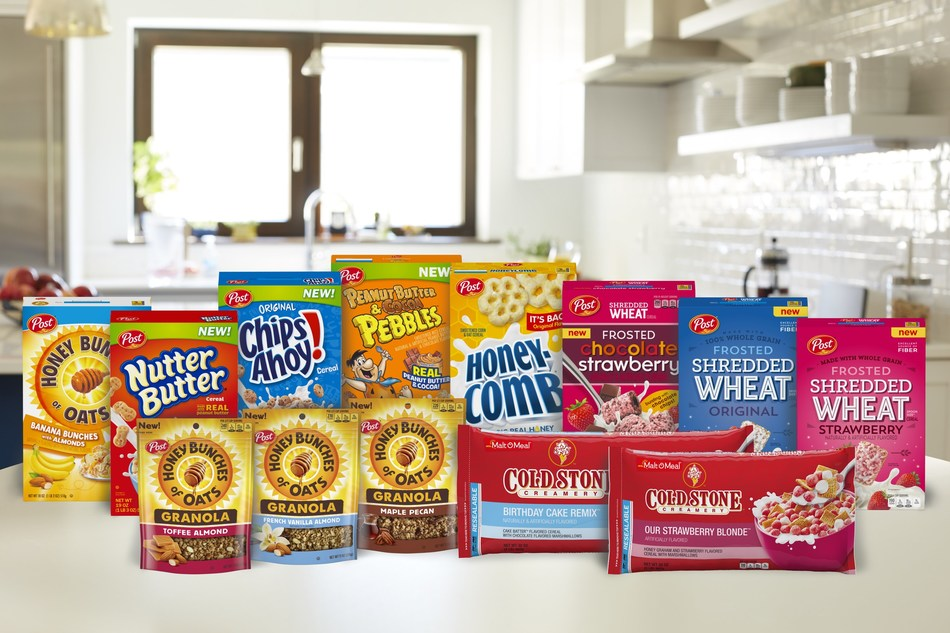 Post Cereals introduces a line-up of new and improved cereals this summer.