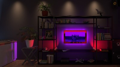 Signify collaborated with Disney Music Group to showcase Philips Hue Sync's immersive capabilities with the highly anticipated, premiere music video from the new a cappella singing sensation, DCappella.