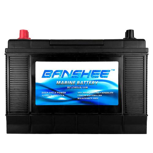 Banshee Marine Deep Cycle D31M Marine Battery
