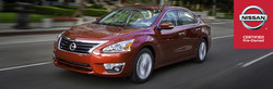 Nissan Certified Pre-Owned vehicle in Melbourne, Florida