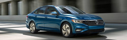 Drivers can test drive the latest Volkswagen models at Burke Volkswagen, including the all-new 2019 VW Jetta.
