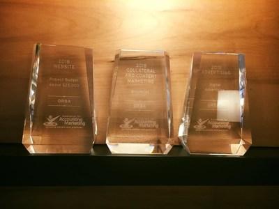 ORBA Wins Association of Accounting Marketing Achievement Awards