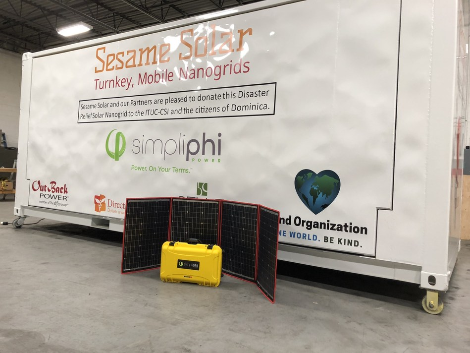 Sesame Solar, SimpliPhi And OutBack Deliver Lifesaving, Solar-Powered Nanogrid To Princess Margaret Hospital In Dominica