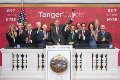 Tanger Outlets Ring NYSE Closing Bell