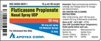 Fluticasone Propionate Nasal Spray, USP, 50 mcg per spray, 120 Metered Sprays (CNW Group/Apotex Corp.)