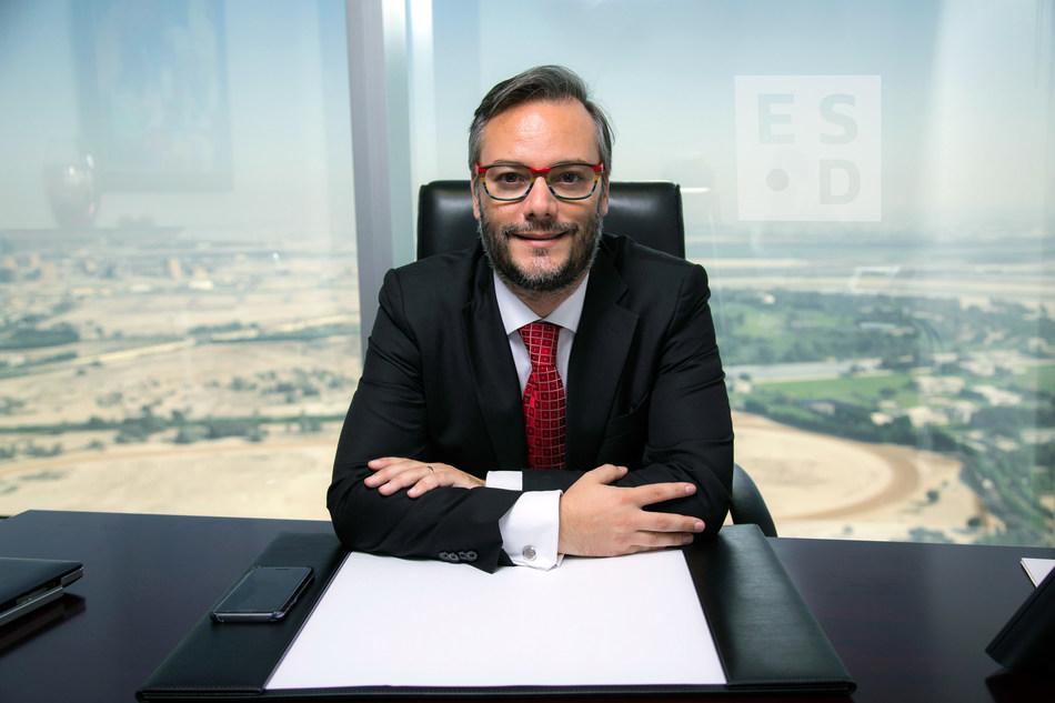 Co-Founder and CEO, Christian Farioli (PRNewsfoto/ESD FZC)