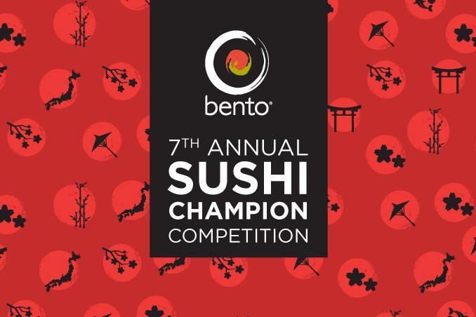 Bento Sushi hosts 7th Annual Sushi Champion Competition (CNW Group/Bento Sushi)