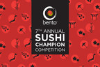 Bento Sushi hosts 7th Annual Sushi Champion Competition (CNW Group/Bento Sushi)