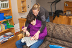 Margaret and her intervenor (CNW Group/DeafBlind Ontario Services)